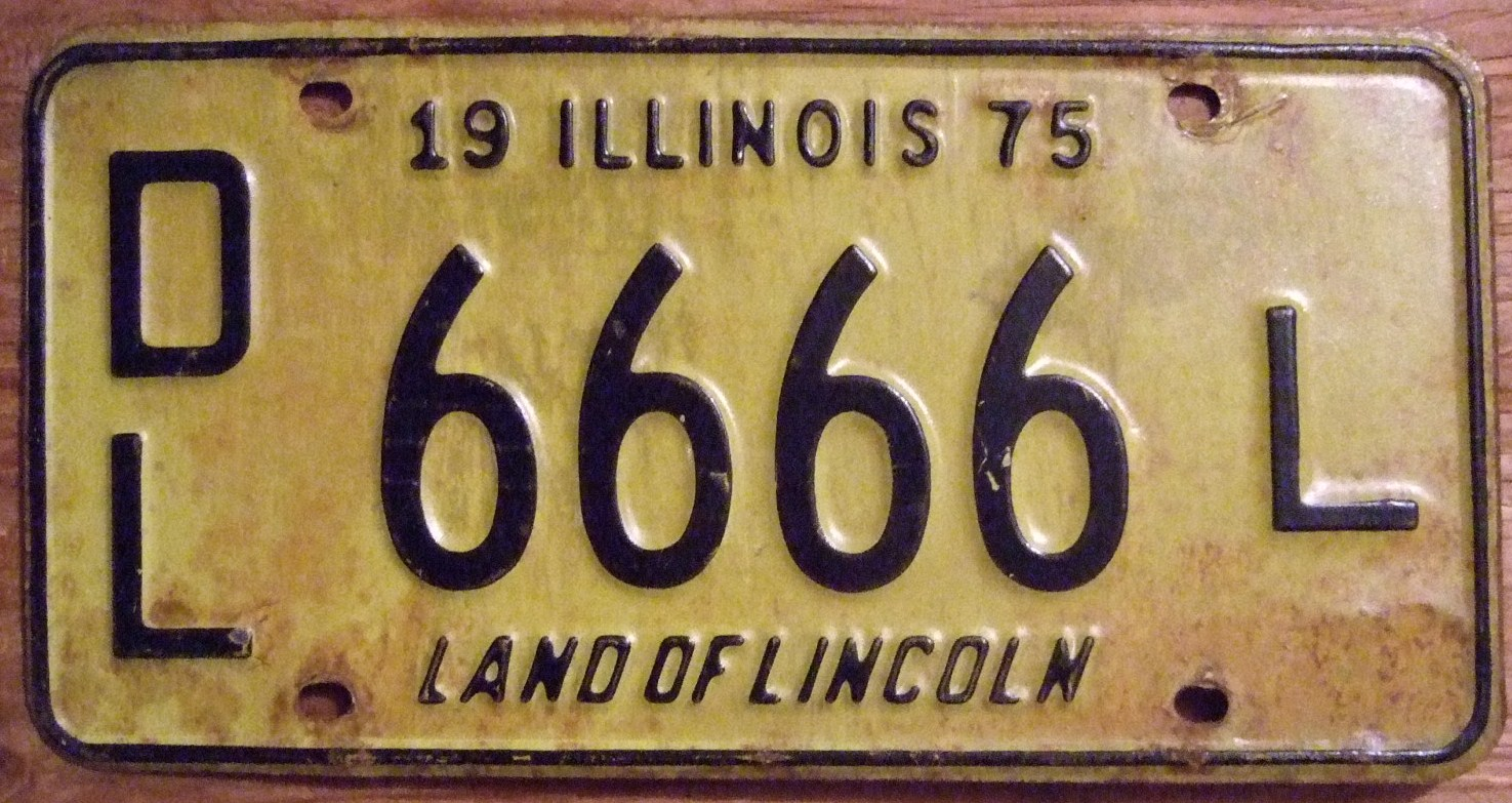 Illinois Dealer Plate