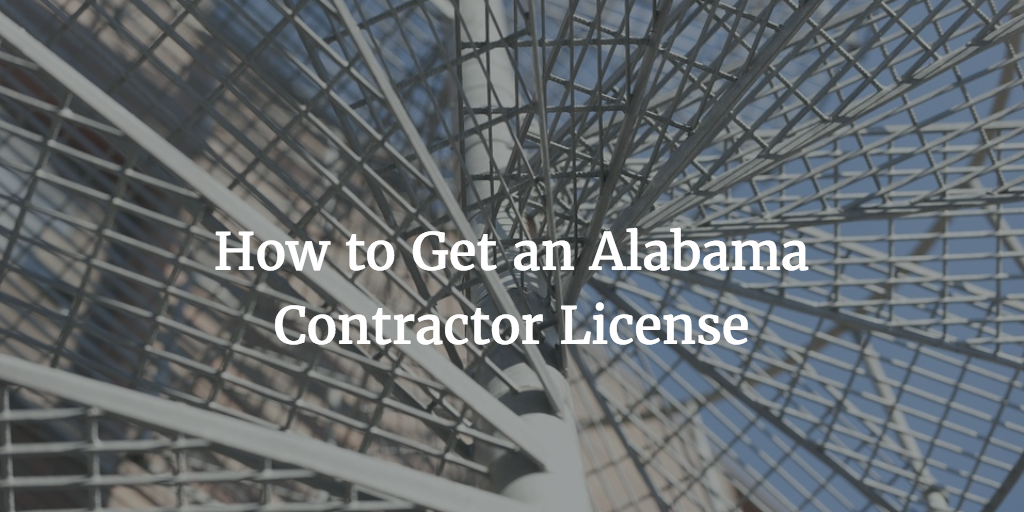 alabama contractor license