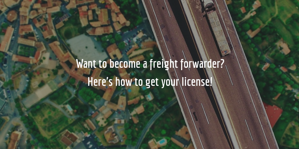 freight forwarder license guide