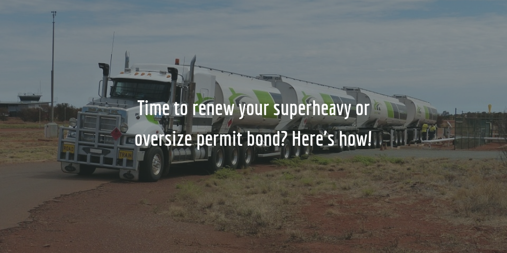 Texas Superheavy or Oversize Permit Bond Renewal Guide