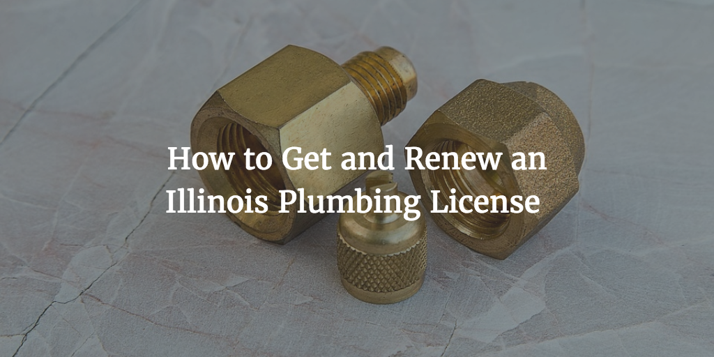 Illinois Plumbing License