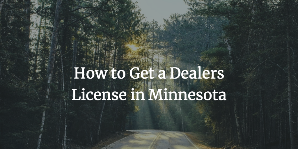 Minnesota dealer license