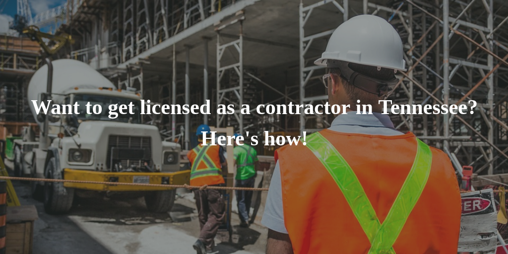 Tennessee contractor license guide