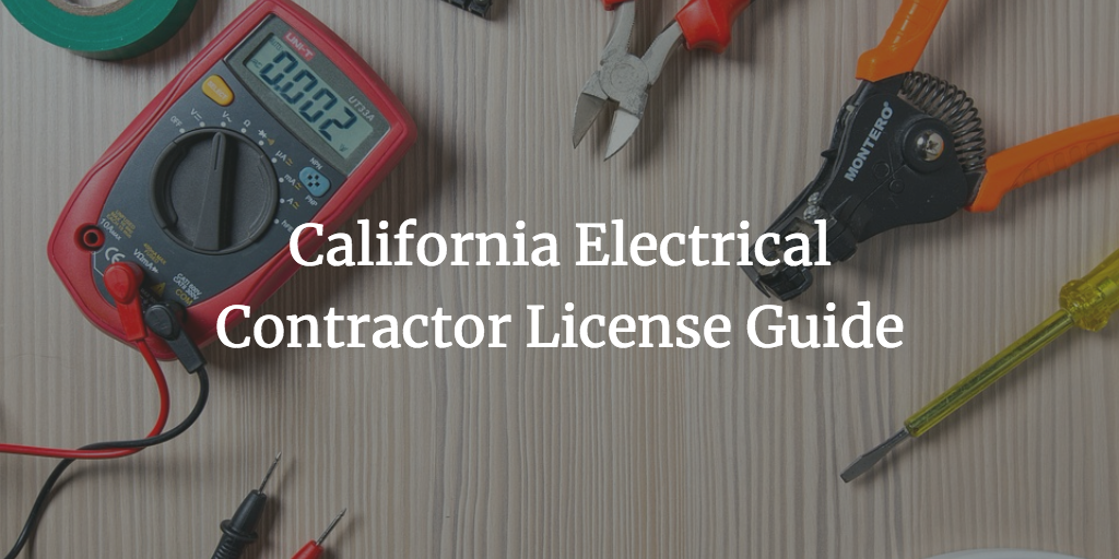 California electrical contractor license