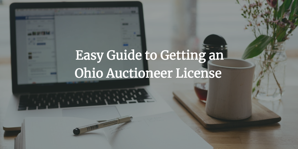 Ohio auctioneer license