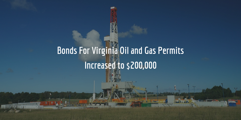 Virginia Oil and Gas Bond