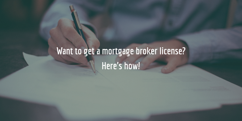 mortgage broker license guide