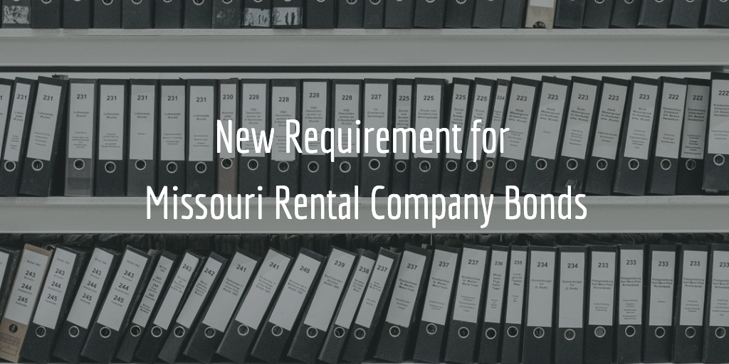 missouri rental company bonds