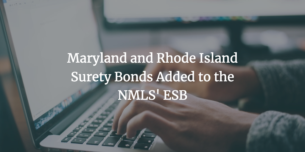 nmls esb new bond types