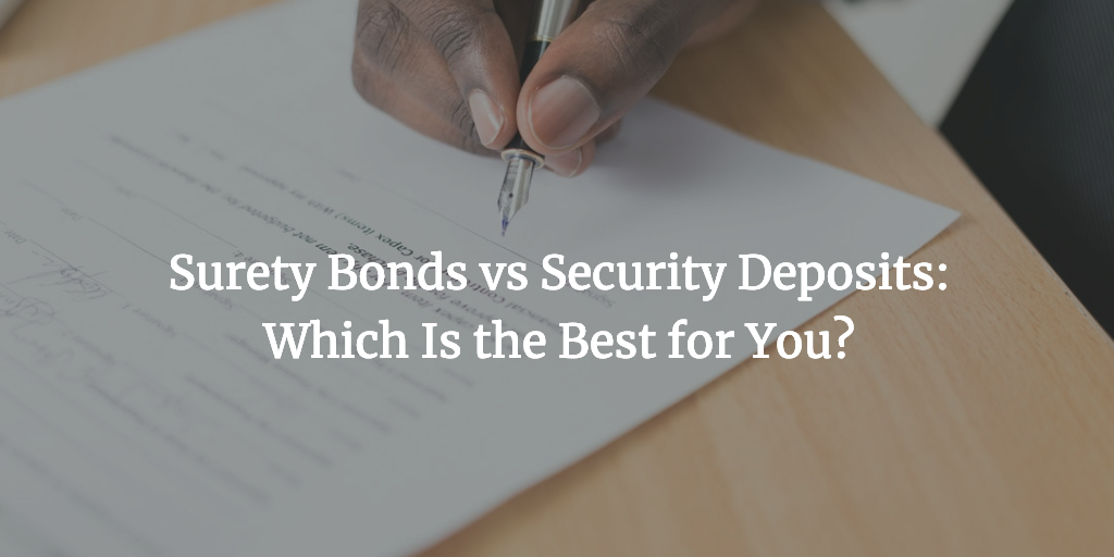 urety-bonds-vs-security-deposit
