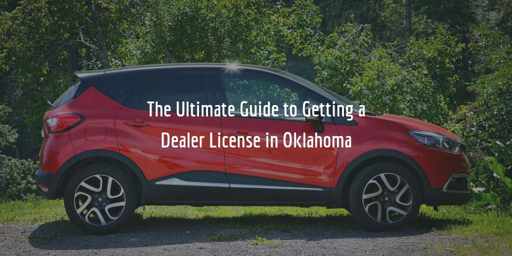 Oklahoma dealer license