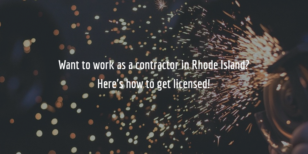 Rhode Island contractor license guide