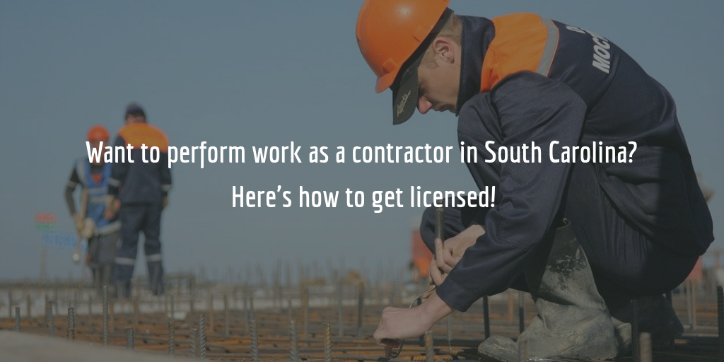 South Carolina contractor license guide