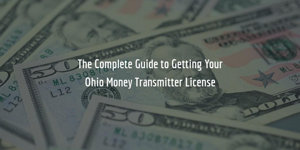 Ohio money transmitter license guide