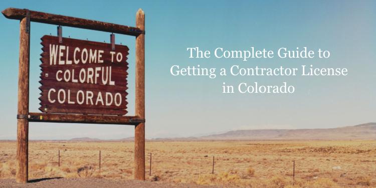 Colorado contractor license guide