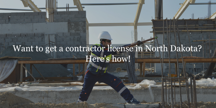 North Dakota contractor license guide