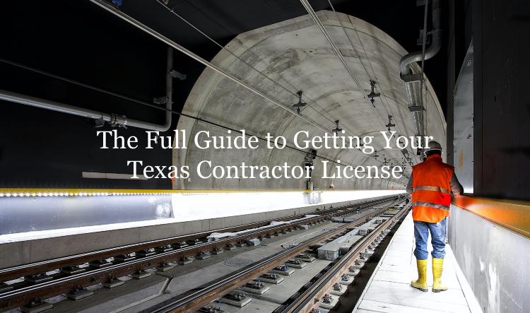 Texas contractor license guide