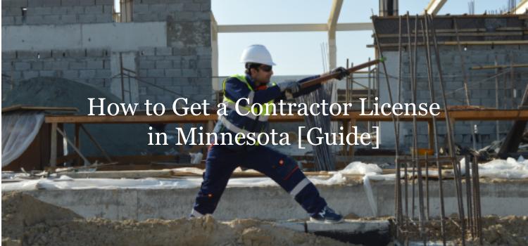Minnesota contractor license guide